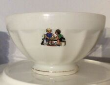 Alter Bol vieux bol ancien café au lait old French bowl children Vintage