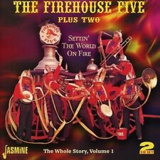 FIREHOUSE FIVE+TWO - SETTIN' THE WORLD ON FIRE-THE WHOLE STORY VOL.1 2 CD NEUF