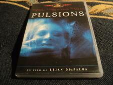 "DVD ""PULSIONS"" Michael CAINE, Angie DICKINSON, Nancy ALLEN / Brian DE PALMA"