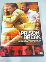 Prison Break Segunda Temporada - 5 x DVD - Falta el DVD 1