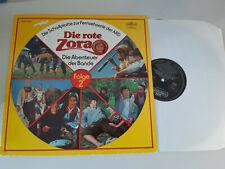 LP OST Unkel / Bruhn - Die rote Zora Folge 2 (52 min) INTERCORD Club-Sonderauflg