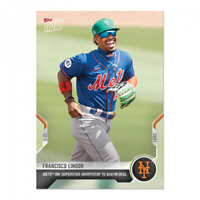 Francisco Lindor - 2021 MLB TOPPS NOW Card ST-3 341 Million New York Mets