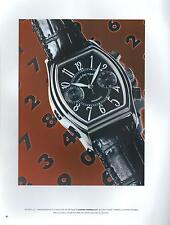 ▬► PUBLICITE ADVERTISING AD Montre Watch GIRARD-PERREGAUX Modèle Richeville