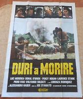 Tough To Kill Italian MoviePoster, Folded, Original, Luc Merenda, 1979