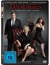3 DVDs * DAMAGES - IM NETZ DER MACHT - SEASON / STAFFEL 4 # NEU OVP <