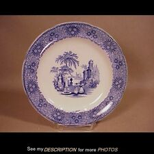 1850 Adams China England Staffordshire Plate Isola Belle Pattern