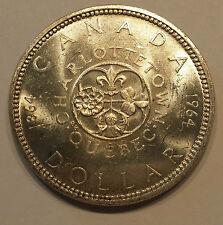 1964 Canadian Silver Dollar KM# 58