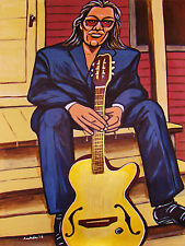 RODRIGUEZ PRINT poster searching for sugarman cd guitar cold fact south africa