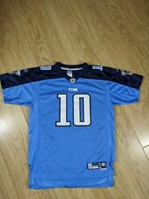 Retro Tennessee Titans Vince Young Jersey #10, Youth XL Reebok Blue, 🔵⚪