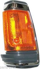New Chrome Trim Corner Light Lamp LH / FOR 1983-86 NISSAN 720 TRUCK