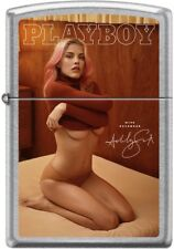 Zippo Playboy November 2016 Cover Street Chrome Windproof Lighter NEW RARE