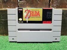 ONE Legend Of Zelda Link To The Past SNES Nintendo Cartridge