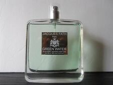 GREEN WATER JACQUES FATH 3.3 OZ / 100 ML EDT SPRAY , LARGE ,UNBOXED.