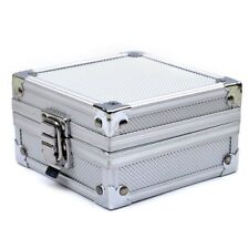 Aluminum Case Box with Clasp for Rotary or Coil Tattoo Gun Machine ED