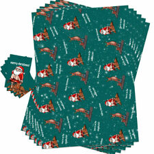 Funny Christmas Wrap Wrapping Paper & Gift Tags Rude Novelty Naughty List Design