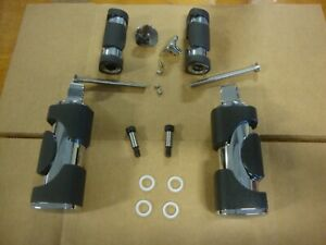 Big Dog Motorcycles OEM Chrome Main Foot Peg Set (w/ hardware) 2004-2011 models