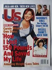 CARNIE WILSON, RUSSELL CROWE, LINDA EVANGELISTA, Sep 3, 2001 US Weekly, XLNT