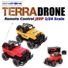 TerraDRONE Remote Control Jeep -1:24 Scale