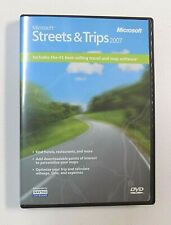 Microsoft Streets and Trips 2007 Software