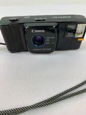 Rare Vintage Black Canon Snappy 20 35mm 1:4.5 Film Camera With Strap