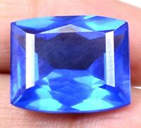 AAA Brazilian 20.40 Ct Natural London Blue Topaz Loose Gemstone Certified F4040