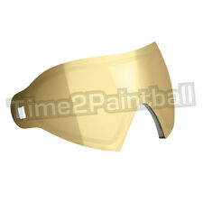 Dye I4 / I5 Thermal Replacement Lens - Smoke Gold **FREE SHIPPING** Paintball