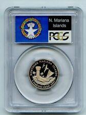 2009 S 25C Clad Northern Mariana Islands Quarter PCGS PR70DCAM