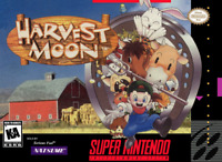 Harvest Moon SNES Super Nintendo - Cart Only - New Condition - Free Shipping