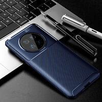 Carbon fiber TPU Telefon Schutz hülle Back Case Cover für Huawei Mate 40/40 Pro