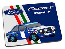 Ford Escort Mark ll Rally Car Mouse Mat