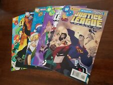 JUSTICE LEAGUE UNLIMITED #1,6,16,25,46 DC lot of 5 First/Last issue SUPERGIRL