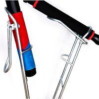 4Stück Metallrutenhalter Rutenauflage Rutenhalter Rutenständer Erdspeer Erdspieß