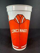 Vintage Plastic Cup CINCINNATI REDS Large