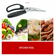 Kitchen Scissors Shears Meat Poultry Cutter Stainless Steel Multi Purpose Tool