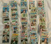 1977 1978 1979 Topps Baseball U pick lots of 10 cards HOFers, All Stars, rookies