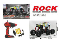 1:12 RC 6 WHEEL ROCK CRAWLER MONSTER TRUCK Remote-Control Off-Road Car RTR Toy