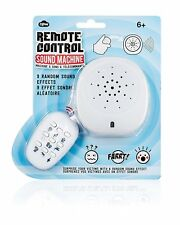 Remote Control Sound Machine 9 Sound Effects Prank Joke Parties Fart Scream Burp