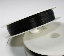 50mtr Reel 0.45 TIGER TAIL BEADING WIRE BLACK