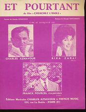 RIKA ZARAI PARTITION MUSICALE AZNAVOUR