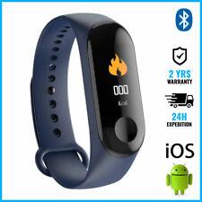 Original M3 Smart Band Watch Sport Montre Horloge Bluetooth Android iOS Blue