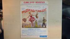 Sheet Music CLIMB EV'RY MOUNTAIN Sound of Music 1959