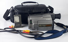 Sony Handycam Ccd-Trv52 8mm Video8 Camcorder w/ Accessories Tested and Working