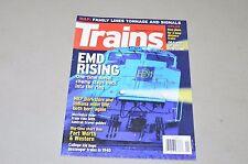 Trains Magazine railroad 2011 January Emd, Nkp, Amtrak, Fw&W Tx Family Lines map