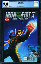 IRON FIST #1 - FIRST PRINT - CGC 9.8 - SOLD OUT - FIRST ISSUE - HOT SERIES