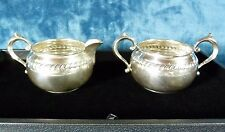 Vintage Gorham Solid 925 Sterling Silver Cream and Sugar Set #912 and #913 179g