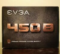 EVGA 450 100-B1-0450-K1 B 80 PLUS Bronze 450W Power Supply