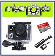 Eken H8R Action Camera 4K Ultra HD WiFi (Black) + Monopod + Ultra microSD 16GB