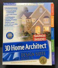 Broderbund 3D Home Architect Design Suite Deluxe 6 c/w Manual & CD