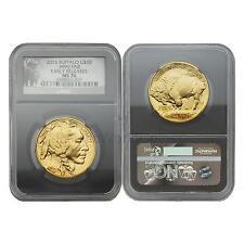 USA 2015 Buffalo $50 1 oz Gold NGC MS70 Early Releases