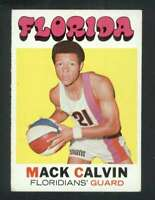 1971-72 Topps #160 Mack Calvin EXMT/EXMT+ RC Rookie 127460